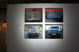 Museum of Moscow ZiL factory automobiles