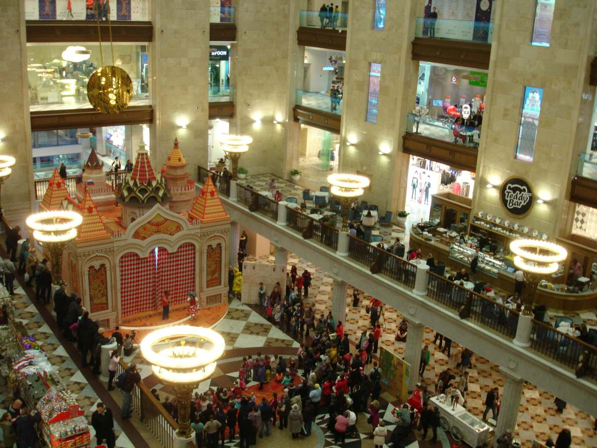 Central Children's Store at Lubyanka, Moscow: more than just a department store