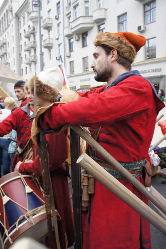 Medieval Guards Moscow City Day 2016