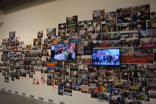 Monstration Loskutov Garage Triennial