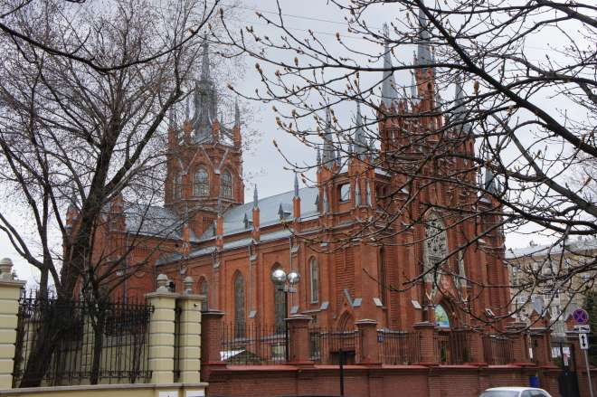 Roman Catholic Cathedral Moscow