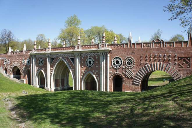 Bridge Tsaritsyno Moscow