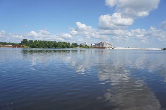 Volga River Dubna Russia