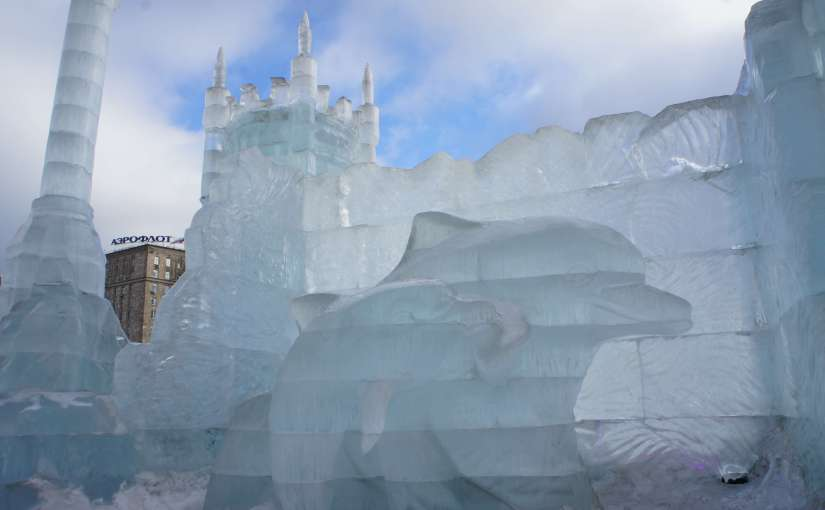 Nice ice baby at the Moscow Ice Festival