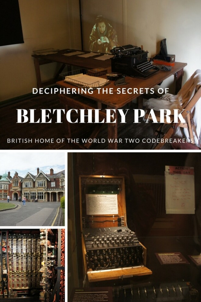 Bletchley Park near London is where the codebreakers of World War Two had their headquarters. It is also an excellent example of how to do really engaging interactive museuming.