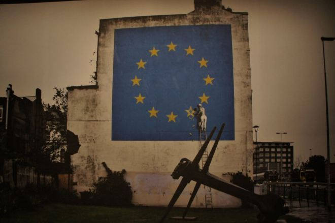 Brexit Banksy Moscow