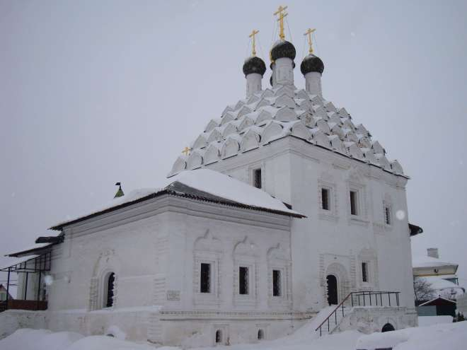 Church of St Nicholas Posadsky in Kolomna Russia