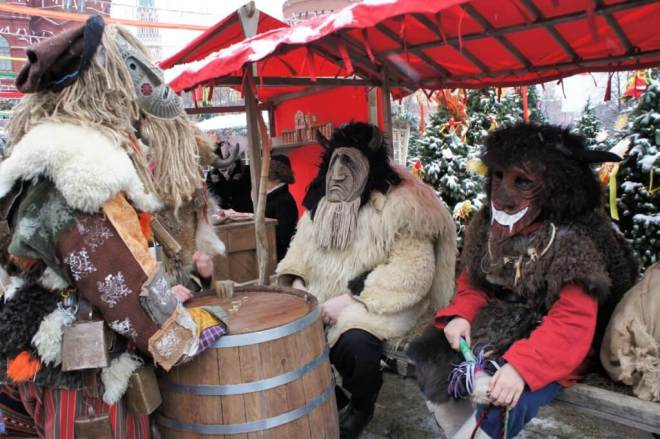 Goat costumes for Maslenitsa Russia