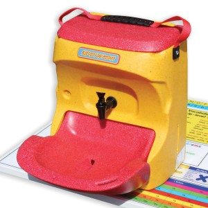Kiddiwash Xtra portable sinks for children