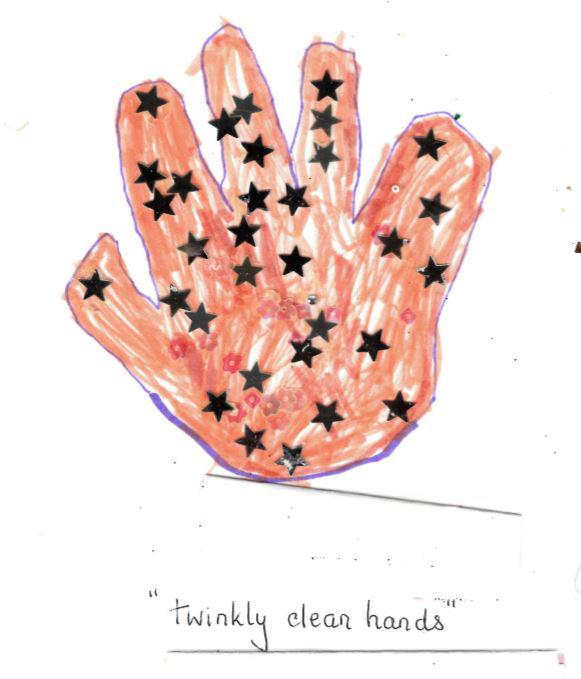 Winner: Roxwell Pre-school - hand by Lacey