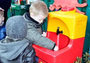 Hand washing for children is vital to prevent infection spread