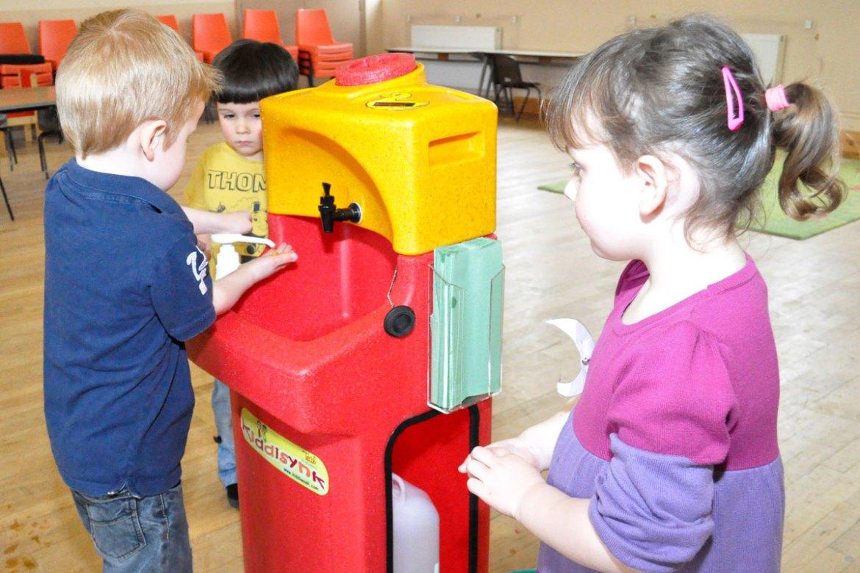 Handwashing for children in preschool