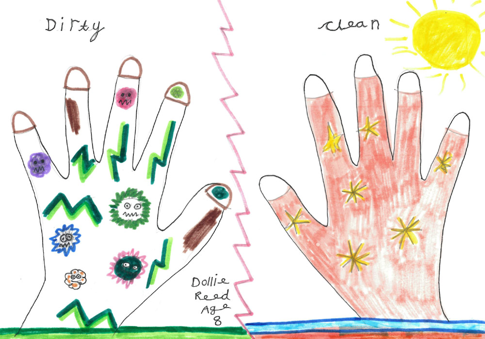 Wonderful entries for Kiddiwash hand washing competitions!