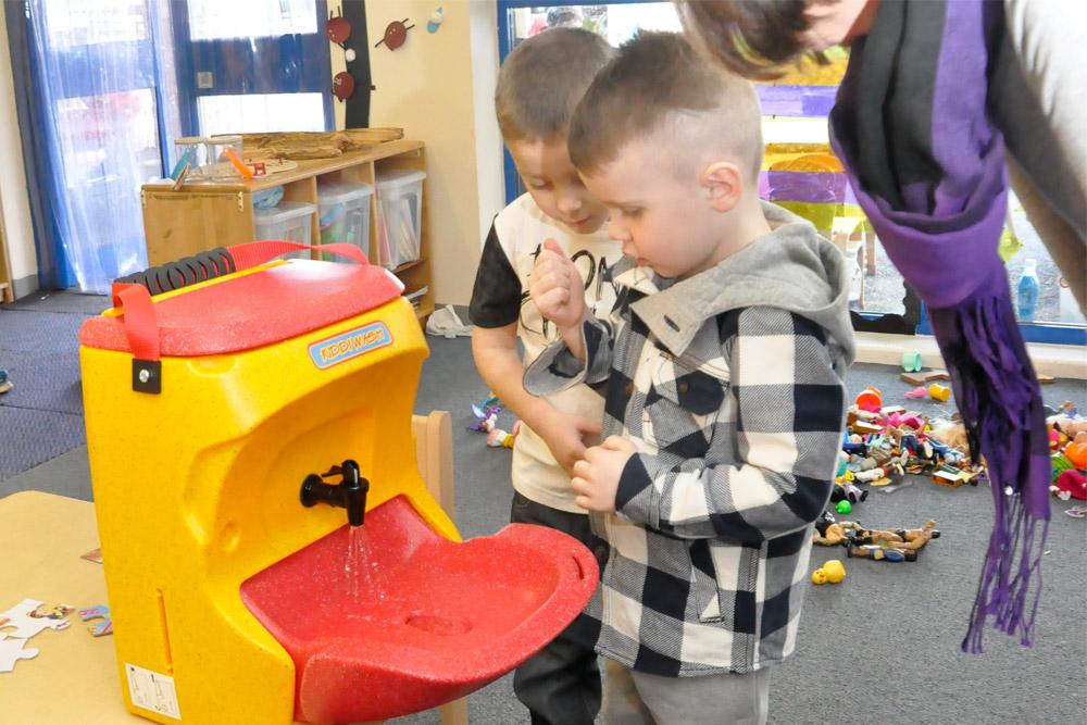 Why hand washing is SO crucial in a preschool setting