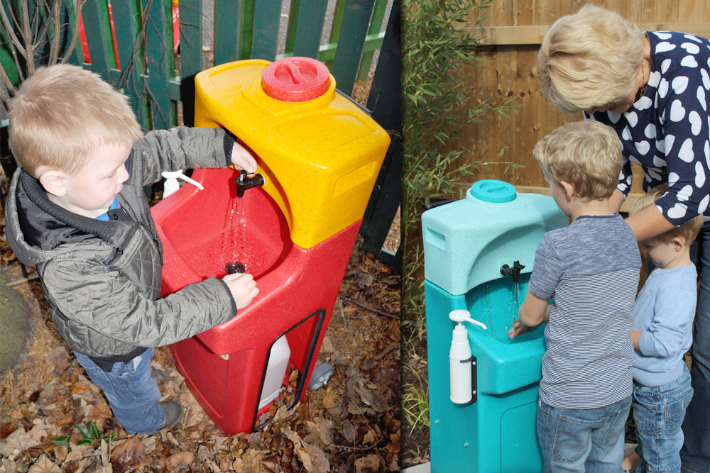 Parents urged to encourage good children's hand washing at all times