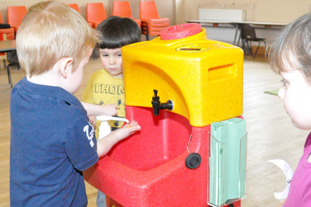 Back to school – why teaching hand washing is so important