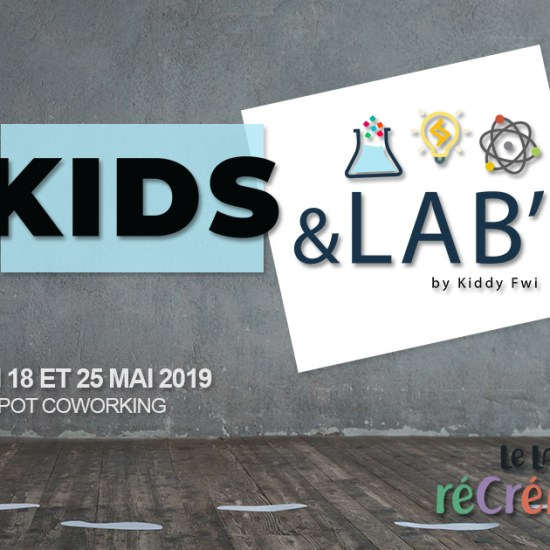atelier scientifique enfant guadeloupe kids&lab