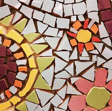 atelier créatif mosaïque enfants