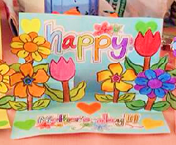 photograph regarding Free Printable Mothers Day Crafts identified as Moms Working day Crafts for Small children