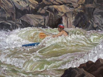 Kayaking Great Falls, VA