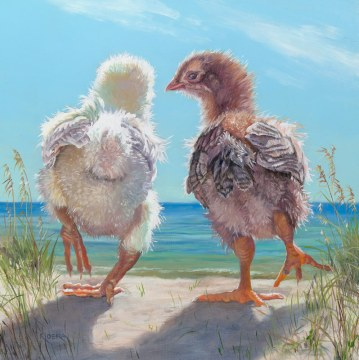Chicks at the Beach