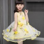 yellow dress girl
