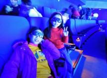 2A 參觀「海科館」「IMAX 3D 海洋劇場」後留下這張帶著全新 3D 眼鏡的照片~