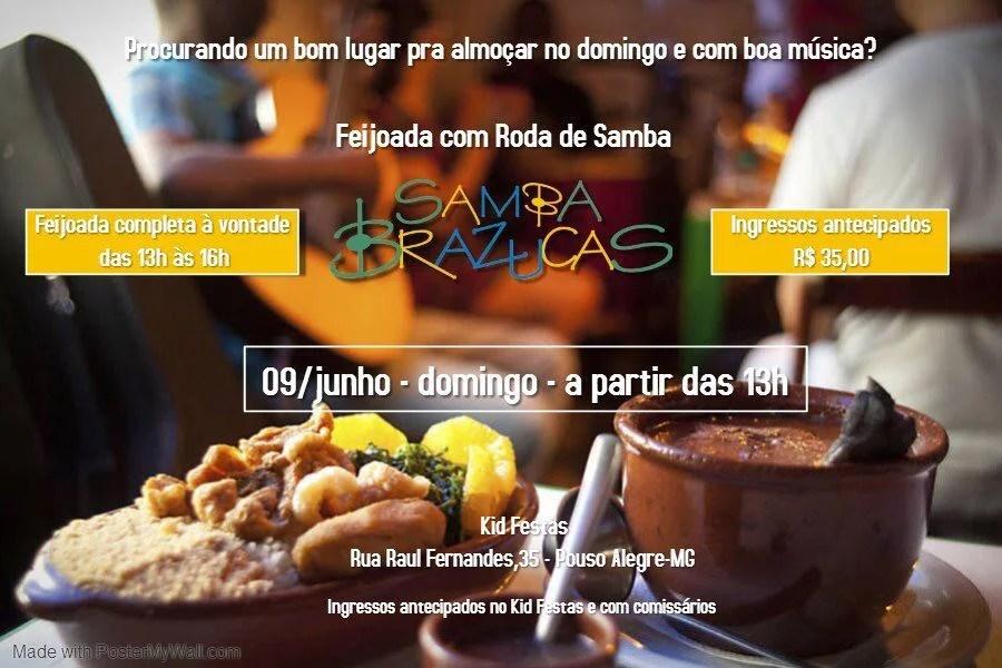 09 DE JUNHO – SAMBA BRAZUCA