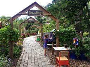 Exploring Brookside's Children's Garden