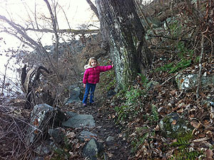 Trail guide in training