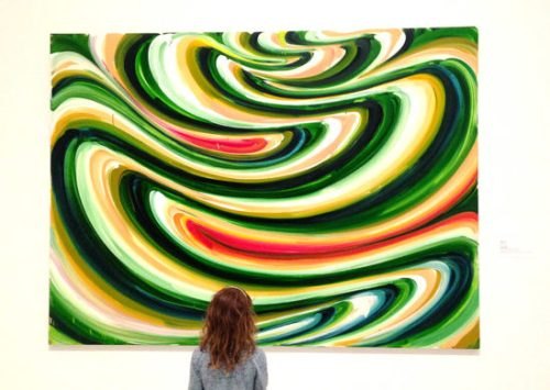 Captivated by colors at the American Art Museum
