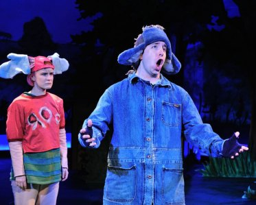 A top-notch performance by Eeyore (James Gardiner)