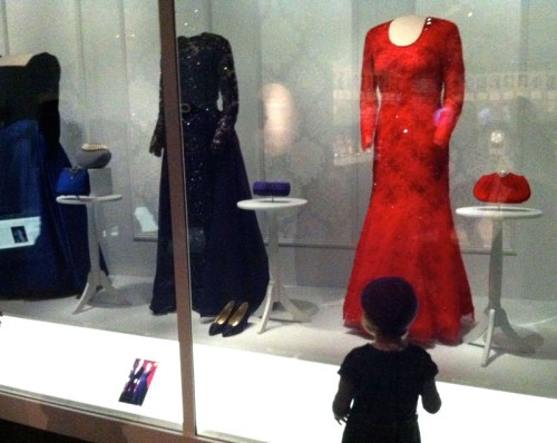Critiquing First Ladies' dresses at the American History Museum