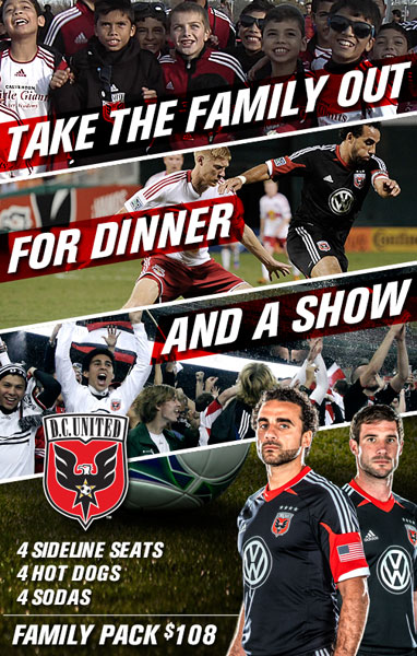 DC United Family Pack Tickets