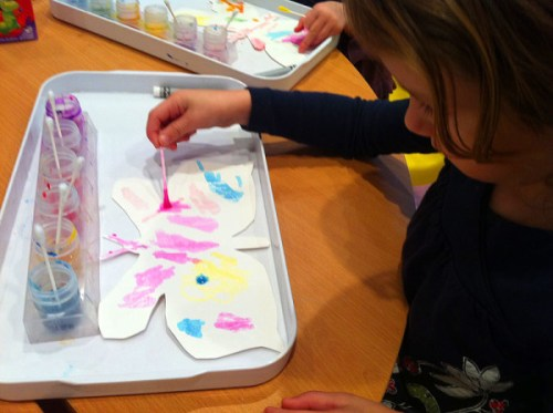 Celebrating with butterfly crafts