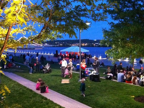 The Friday Concert Series at Yards Park is a perfect way to kick off the weekend