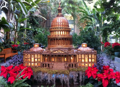 Season's Greenings opens at the U.S. Botanic Garden on Thanksgiving Day
