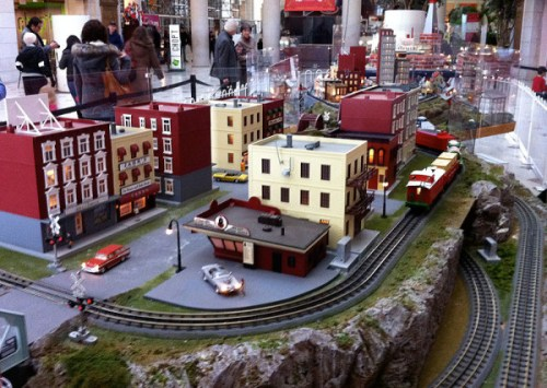 Trains on a smaller scale at Union Station