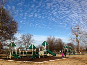 The Hains Point playground
