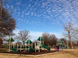 The Hains Point playground