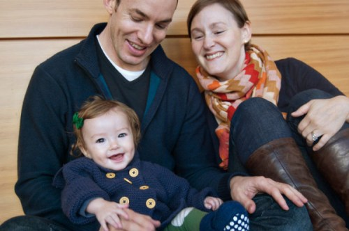 Acton Academy of Washington, DC founders, Nicole Spencer and David Kirby, with their daughter Madeleine