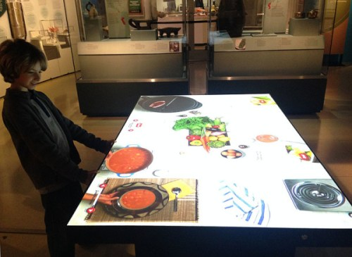 """Making a virtual meal at Nat Geo's """"Food: Our Global Kitchen"""" exhibit"""