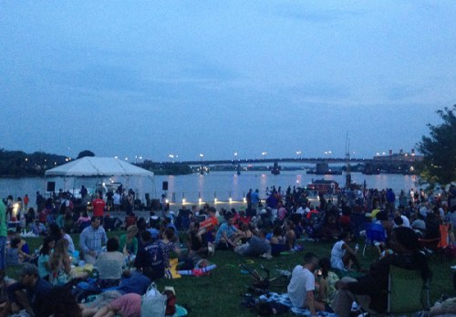 Rockin' on the Riverfront is a great start to a summer weekend