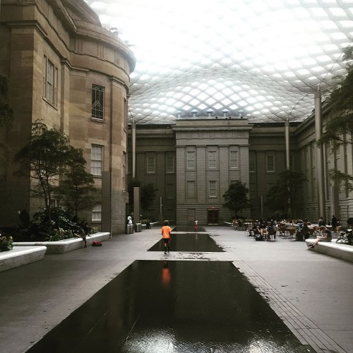 The Kogod Courtyard, one of the prettiest indoor spots in the city