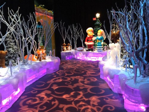 Last year's ICE! exhibit at Christmas on the Potomac