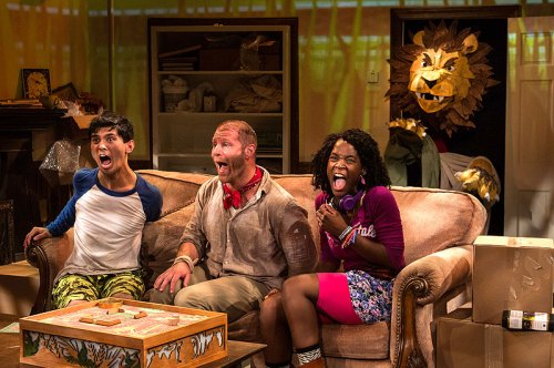 """Jumanji"" will play on the Adventure Theatre stage all summer long"