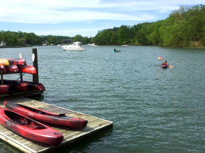 Paddling options complement the on-land activities