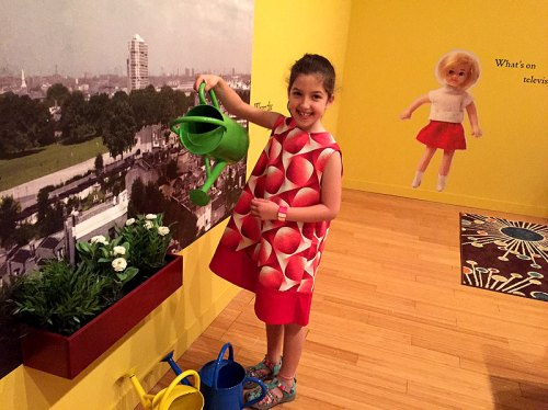 Kids will love the play areas along with the dollhouses at the Small Stories exhibit