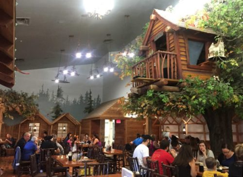 Dining in the Loose Moose
