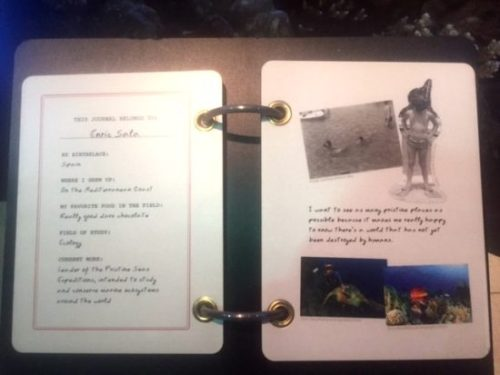 Journals reveal more about each explorer